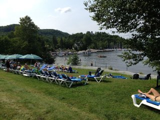 Beautiful Family And Pet-Friendly Cottage In Pinoteau Village, Mont-tremblant.