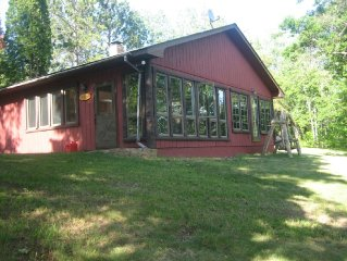 Private Charming Lake Home on Pokegama Chain with 5 acres of privacy