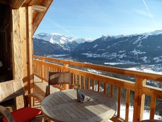 Exceptional, Luxury Chalet with amazing view in Grand Massif ski resort