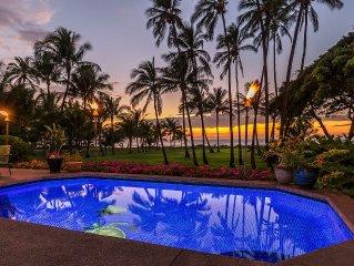 Maui Private Gated Beachfront House 6 Bedroom-6 Bath Swim Pool