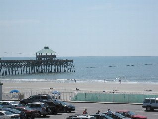Folly Beach Condo Near Pier, Gorgeous Views Contact Owner for Aug. 2017 Discount
