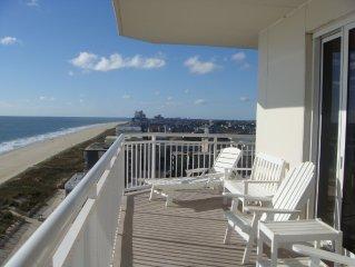Superior 4 bedroom beach front condo in Ocean City!