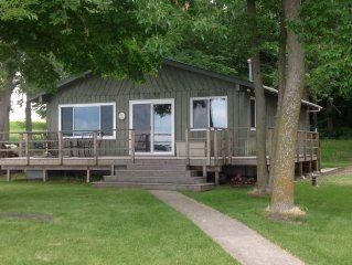 Fish, Relax On The Deck Or Dock In A Cabin All To Yourself On Lake Osakis