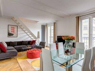 Lovely top floor duplex - Champs Elysees