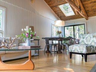 Sundance-featured 3BR mtn retreat, 2 acres - fireplace, mtn views, airy, modern