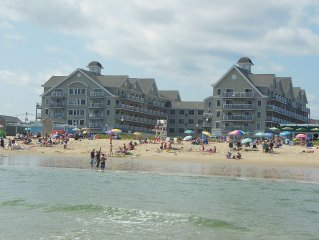Modern Oceanview Condo in the center of Charming Old Orchard Beach