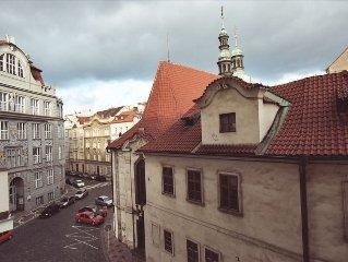Prague 1 Center-Dvorak's Church Across the Street-National Theater Area FreeWiFi