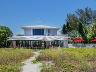 Exquisite Beachfront Villa with Private Pool & Stunning Gulf Views!