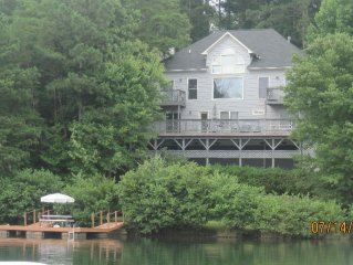 A quiet lakefront hideaway, great for families & friends. Best view on the lake!