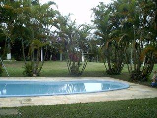 Sítio Santo Antônio - Mogi das Cruzes com 90% Mata Atlantica ( 15 pessoas )