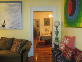 Gracious 3-BR Garden Apartment in the Heart of Hudson