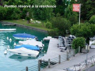 TALLOIRES Appartement 3 etoiles / 50 m2/ face au lac / 2 a 4 personnes