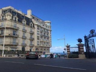 Exceptionnel, 50m de la grande plage, appartement luxueux 85 m2 équipé WIFI
