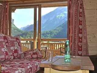AT THE FOOT OF SLOPES:  comfortable Flat in a new built chalet in 2011