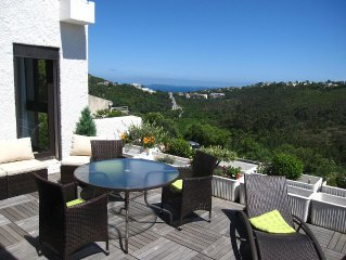 Appartement/Villa vue mer, domaine sécurisé avec piscine & tennis proche Cannes