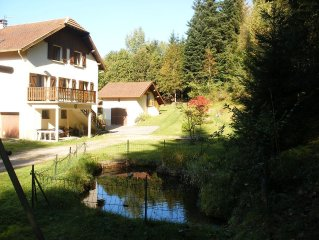Gite 5 persons, about Gerardmer, in a quiet location. Pets accepted
