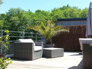 CHARMANT T3 en duplex de 70m2 avec terrasse, calme et tres lumineux