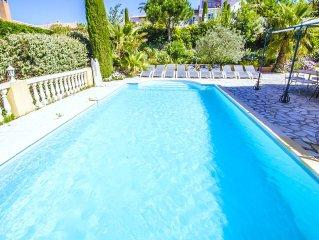 Large villa with pool in Sainte Maxime - Saint Tropez
