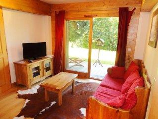 Cozy holiday apartment Haute-Savoie, Les Carroz d'Araches