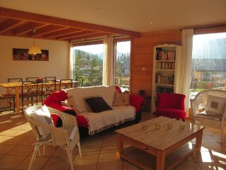 **** Chalet for 8 to 11 pers. Comfort and conviviality. Fireplace. Space.