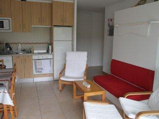 Appartement t2 Socoa situé à 3km de St Jean-De-Luz , à 1km de la plage classé 2*
