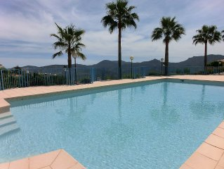 LUXURY APARTMENT CORNER, A 15 MINUTES FROM CANNES WITH MAGNIFICENT VIEW ON ESTE