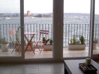 Vue panoramique sur le port de Camaret sur Mer