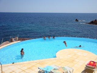 Appartement 5 personnes vue sur mer et jardin privatif