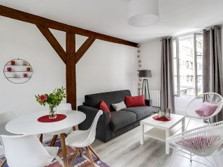 Charming apartment in the center of Fontainebleau