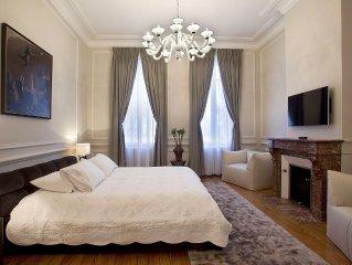 Bordeaux Splendide Appartement 19è siècle idéalement situé -Parc bordelais