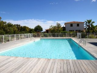 Appartement de standing - 2 chambres - 6/7 pers. - piscine - plage a 500m