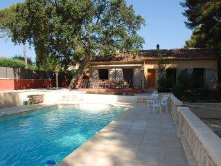 Villa provencale Lou Clappas avec piscine privee et jardin arbore