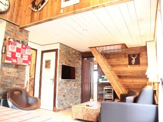 Standard apartment Chalet, high quality services, access to 5 ski areas