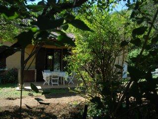 Gite tout confort de 115 m2 avec jardin clos, parc arbore