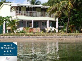 La Cocoteraie*** Villa composee de 2 appartements, Location de 1 ou 2 appartts
