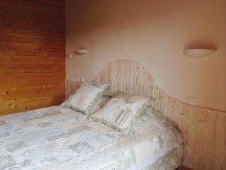 Proche Lac Chalet Confort+ de 2 a 10 personnes Wifi Balnéo...