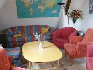 Location cabourg dans quartier residentiel calme appartement 75 m2