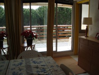 Studio with separate cabin, 26 m2 + terrace 7 m2