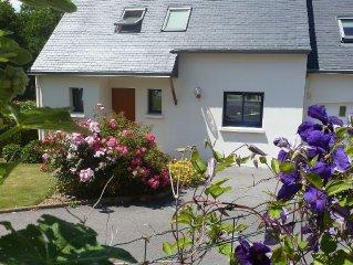 Maison recente a 2 pas du centre-ville dans un quartier calme Concarneau-WIFI