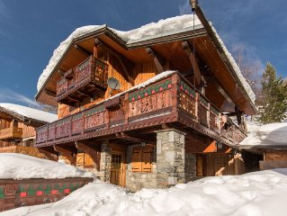 comfortable chalet, 12 people with sauna, the resort center, 200 / 300m from th