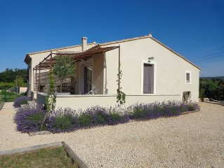The Garden of Delis, charming Villa in the Luberon
