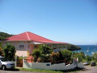 Magnifique vue panoramique sur toute la baie de Grande Anse