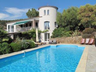 Villa Climatisee Avec Grande Piscine, Vue Mer, Proche Des Plages des Issambres
