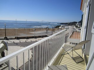 FRONT de MER Appart 6/8 pers dans MAISON, 3 Etoiles, à 30 m plage, PARKING PRIVE