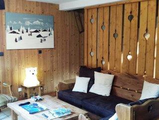 Chalet 6 chambres Combloux/Megeve au coeur de l'espace Mont Blanc