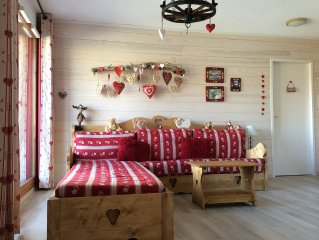 Appart. 4 pcs. 66M2,3 guestroom. a bedroom, 2 bathrooms, (sleeps 8).