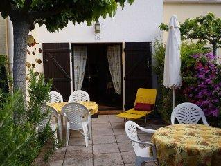 Jolie maison de vacances sur la presqu'ile de Giens, Var, decor provencal