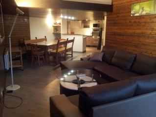 appartement 80m2 renove 4 chambres pied des pistes Orcieres merlette 8 pers