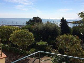 Duplex 60 m2 2 chambres vue panoramique mer a 80m de la plage