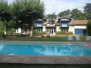 Saint Jean de Luz -  Belle Maison de caractère avec piscine